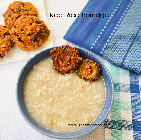 Red Rice Porridge / Podi Arisi Kanji
