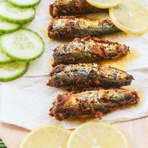 Sardines Crisp Fry   Chala Meen Varuval   Mathi Meen Varuval