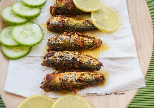 Sardines Crisp Fry