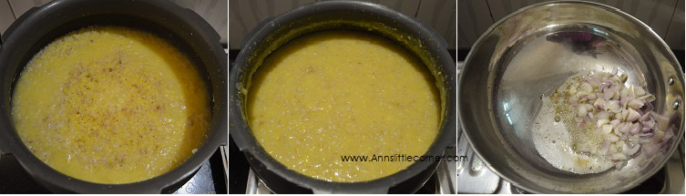 Wheat Corn Meal Porridge