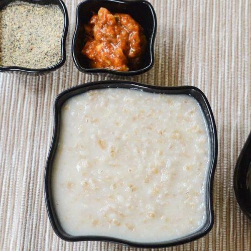 Wheat Urad Dal Porridge / Gothumai Ulundhu Kanji