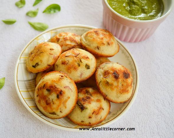 Khara Paniyaram / Simple Savoury Buns