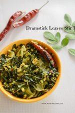 Drumstick Leaves Stir Fry