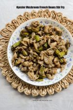 Oyester Mushroom French BEans Stir Fry