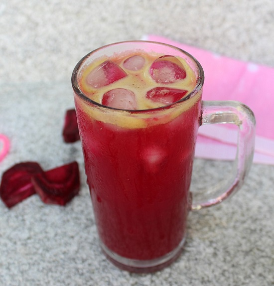 Beetroot Pineapple Juice