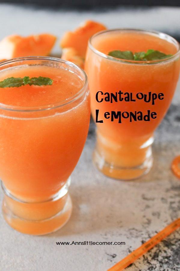 Cantaloupe Lemonade
