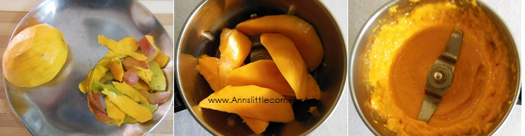 Mango Kulfi / Mango Creamsicle step 3