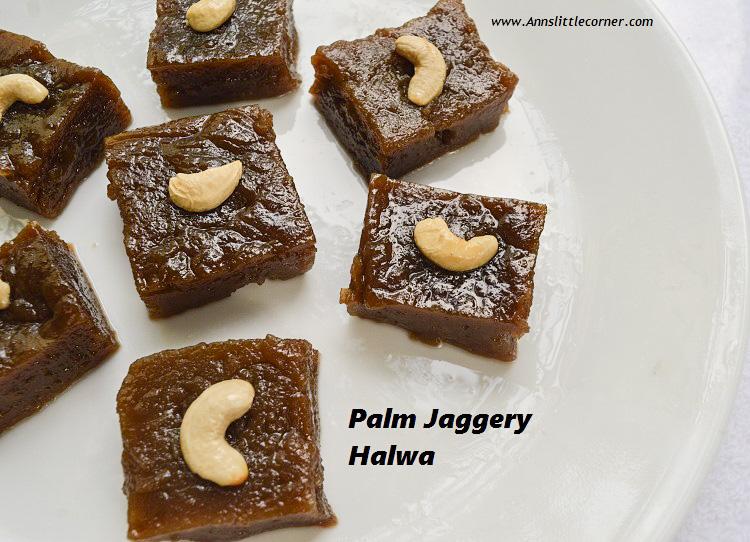 Palm Jaggery Halwa / Karupatti Halwa