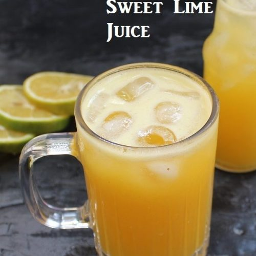 Pineapple Sweet Lime Juice / Pineapple Mosambi Juice