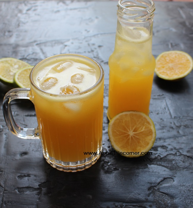 Pineapple Sweet Lime Juice