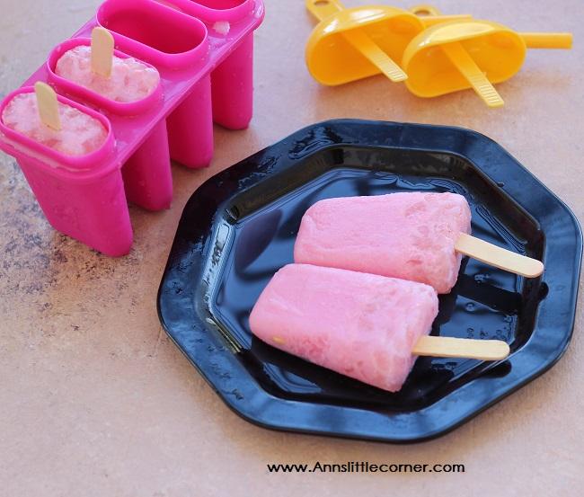nungu Rose Milk popsicle