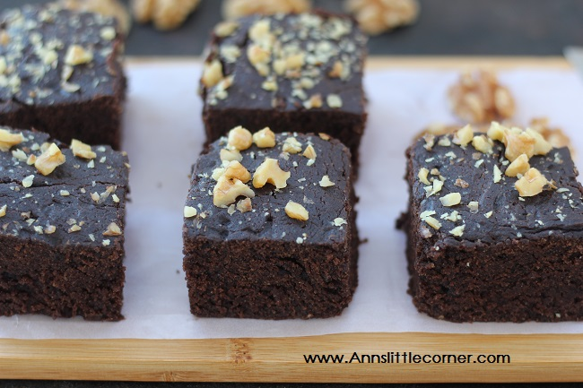 Wheat Walnut Chocolate Brownie
