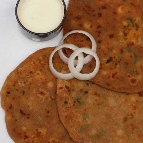 Aloo Paratha / Potato Stuffed Chapati