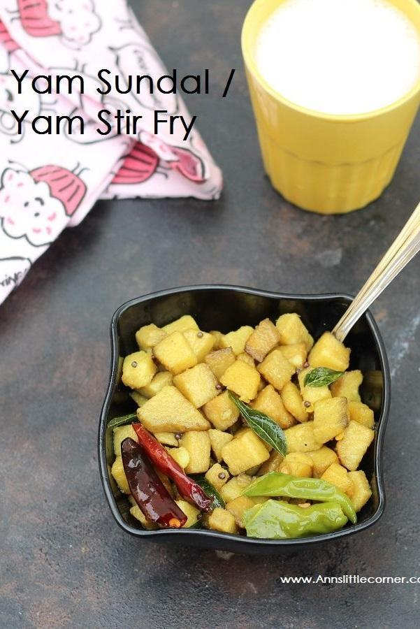 Elephant Yam Stir Fry