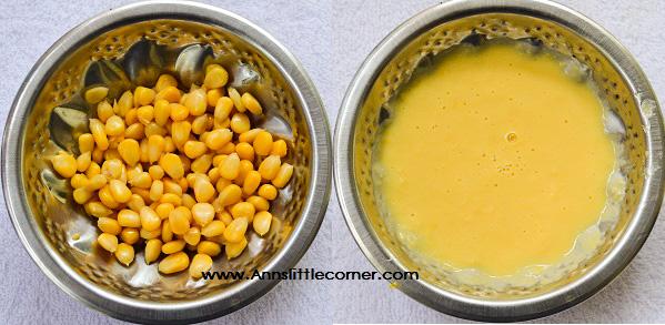 Sweet Corn Paratha