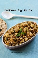 Cauliflower Egg Stirfry