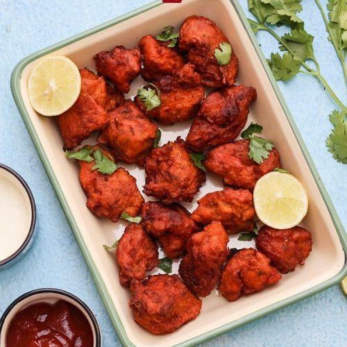 Amritsari Fish / Fish Bajji / Fish Pakoda