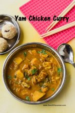 Yam Chicken Curry