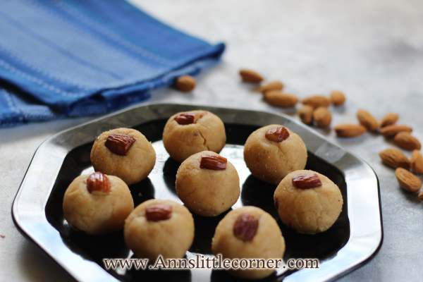 Apple Paneer Ladoo