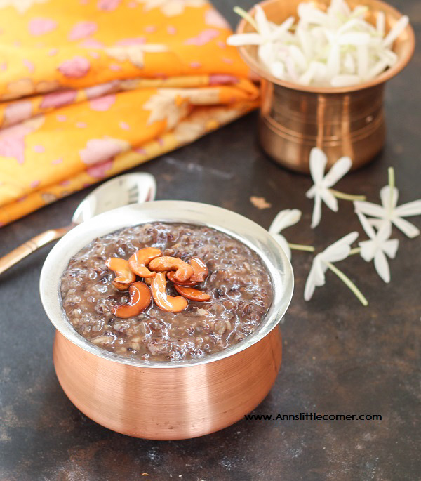 Black Rice Pongal