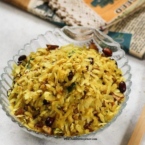 Poha Chivda / Aval Mixture