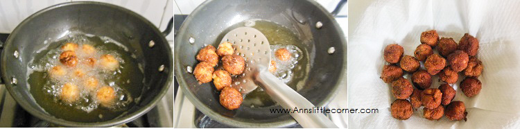 Chicken Prawn Poppers