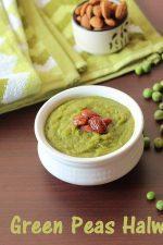 Green Peas Halwa