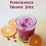 Orange Pomegranate Juice