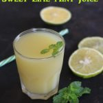 Mosambi Mint Juice / Sweet Lime Mint Juice