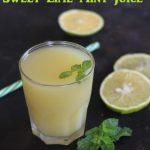 Mosambi Mint Juice / Sweet Lime Mint Juice