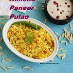 Almond Paneer Pulao