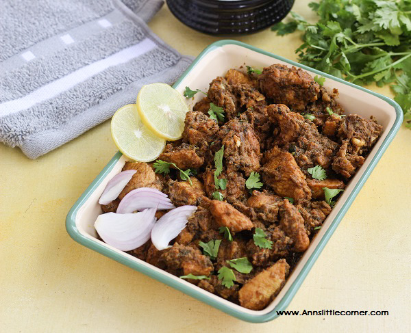 Coriander Chicken Fry