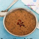 Beetroot Paruppu Payasam / Beetroot Moong Dal Kheer