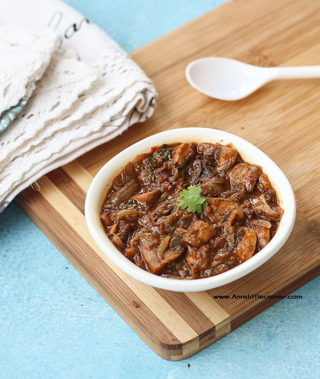 Garlic Mushroom Gravy