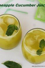 Pineapple cucumber juice main