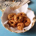 Medu Vada / Urad Dal Vada / Ulundhu Vada
