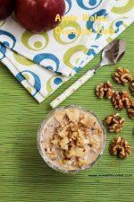 Apple walnut Overnight oats