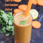 Carrot Coriander Juice