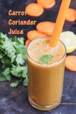 Carrot Coriander Juice