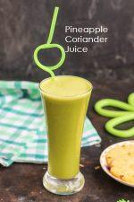 Pineapple Coriander Juice