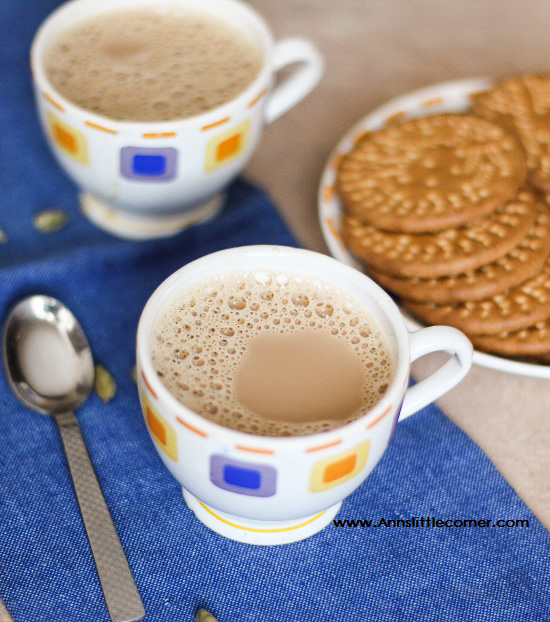 Ginger Cardamom Tea / Ginger Cardamom Chai