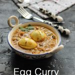 Simple Egg Curry / Muttai Kuzhambu