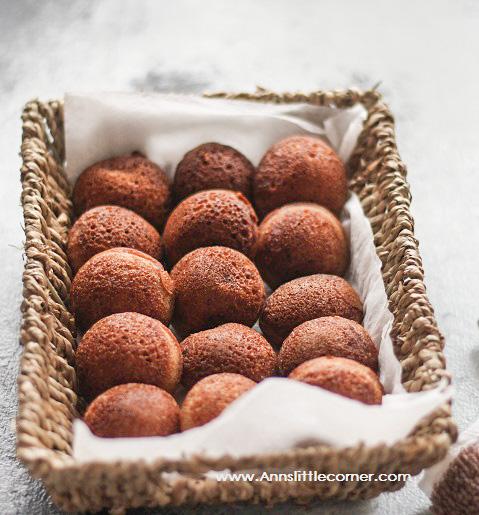 Karupatti Paniyaram / Palm Jaggery Mini Pancakes