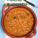 Palakottai Poricha Kuzhambu / Jackfruit Seed Dal Curry