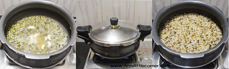 Ulundhu Kanji / Black Gram Porridge