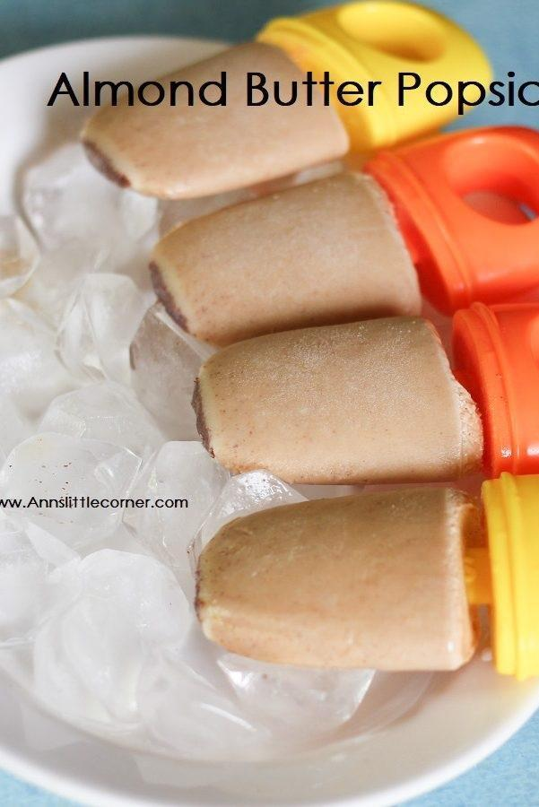 Almond Butter Popsicle