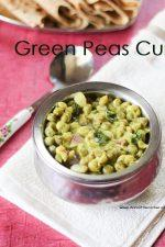 Green Peas Coconut Gravy