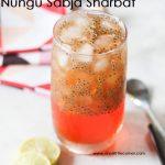 Nungu Sabja Sharbat
