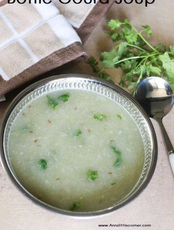 Lauki Soup / Bottle Gourd Soup