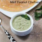 peanut mint chutney